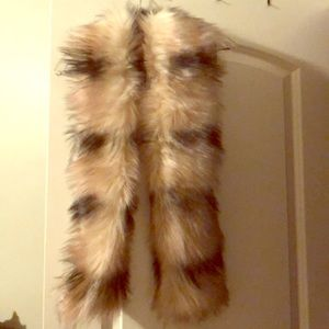Accessories - Faux Fur Scarf